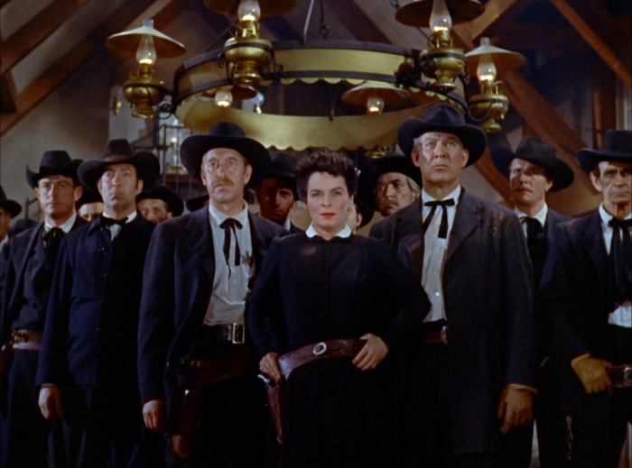 Some sort of trouble brewing in JOHNNY GUITAR