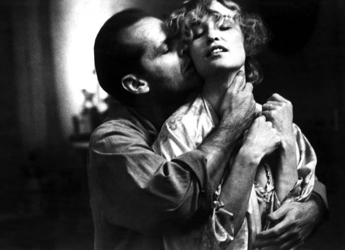 Jack Nicholson & Jessica Lange most definitely about to hit it...