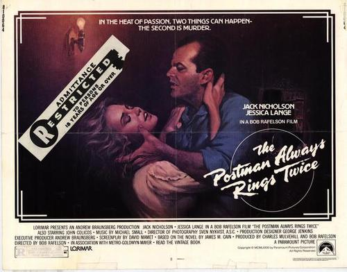 The Postman Always Rings Twice | 1981 Lobby Card