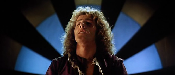 Uh, oh. Franz is getting turned on… LISZTOMANIA, 1975