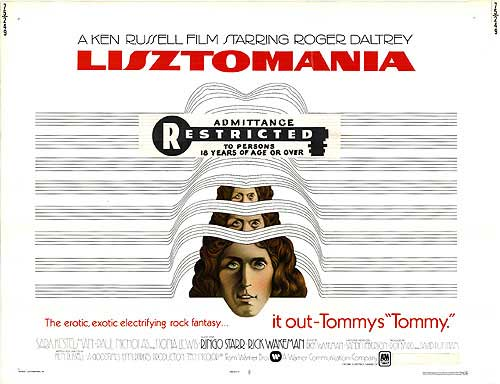 Erotic Exotic Fantastic - It out Tommy's Tommy.  LISZTOMANIA promotion, Restricted, 1975