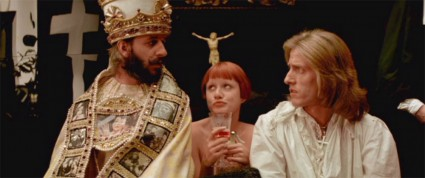Ringo Starr is The Pope. LISZTOMANIA, 1975