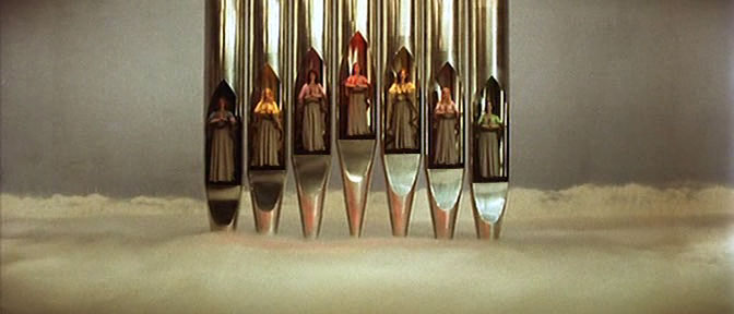 "Before heading in a rather phallic ""Organ"" ""Rocket"" to kill the Evil Wagner Nazi! LISZTOMANIA, 1975"