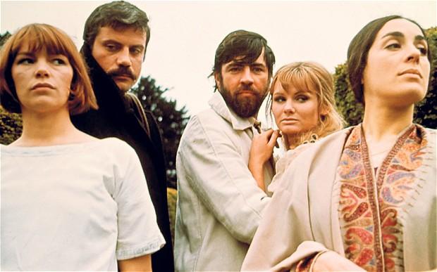 The cast of WOMEN IN LOVE, 1969