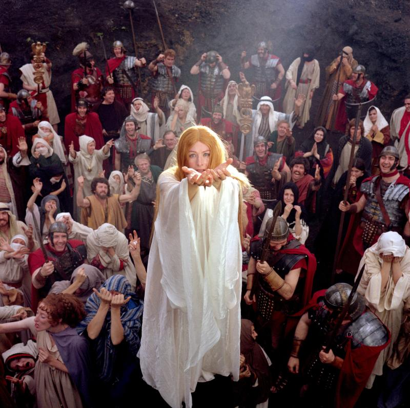 Vanessa Redgrave's Sister Jeanne love for Christ goes far beyond the appropriate scope. THE DEVILS, 1971