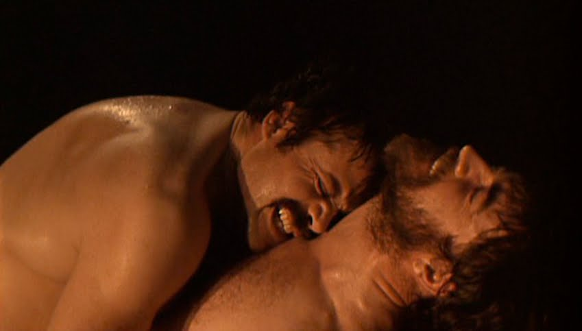 Oliver Reed and Alan Bates' infamous nude wrestle.