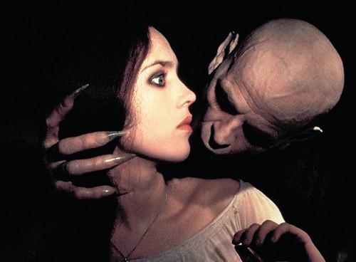Isabelle Adjani waiting for Mr. Kinski's bite...