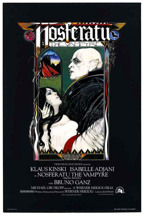 NOSFERATU: The Vampyre Werner Herzog | 1979 Jörg Schmidt-Reitwein  Cinematography