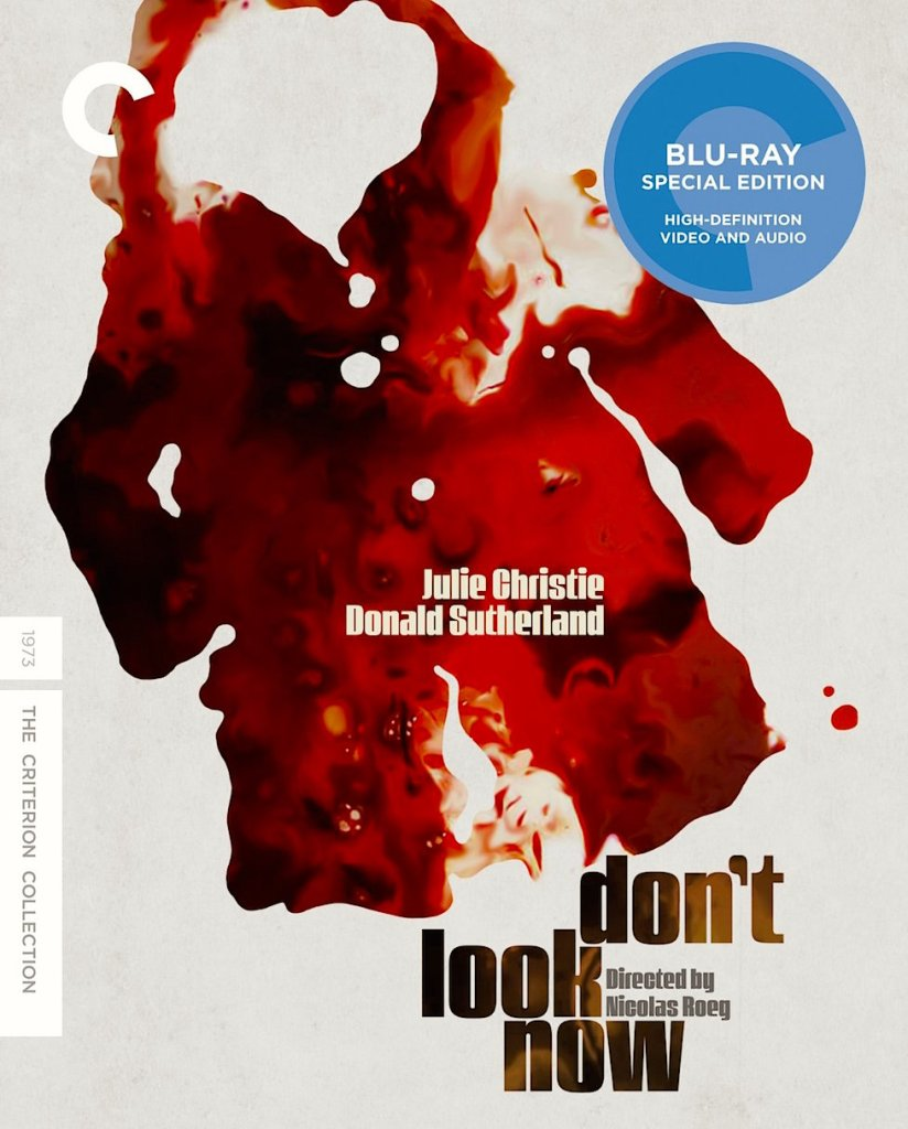 Don't Look Now Nicolas Roeg, 1973 gets the Criterion treatment. Now available on DVD/Blu-Ray