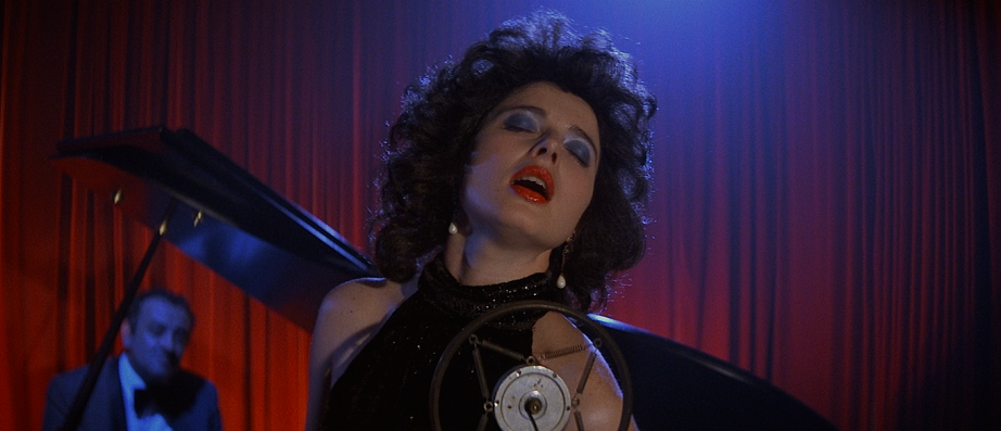Isabella Rossellini in David Lynch's Blue Velvet, 1986. Cinematography: Frederick Elmes