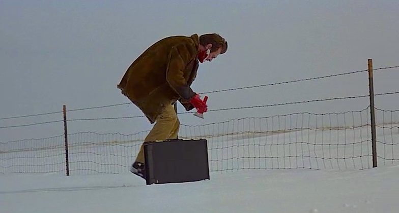 Steve Buscemi as the little kinda funny-lookin' guy. Fargo Joel Coen | 1996 Cinematography | Roger Deakins