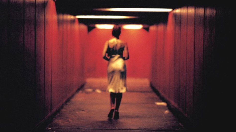 Monica Bellucci embarks on short walk to savage and misogynistic human cruelty in Gaspar Noé's Irréversible, 2002. Cinematography | Benoît Debie & Gaspar Noé