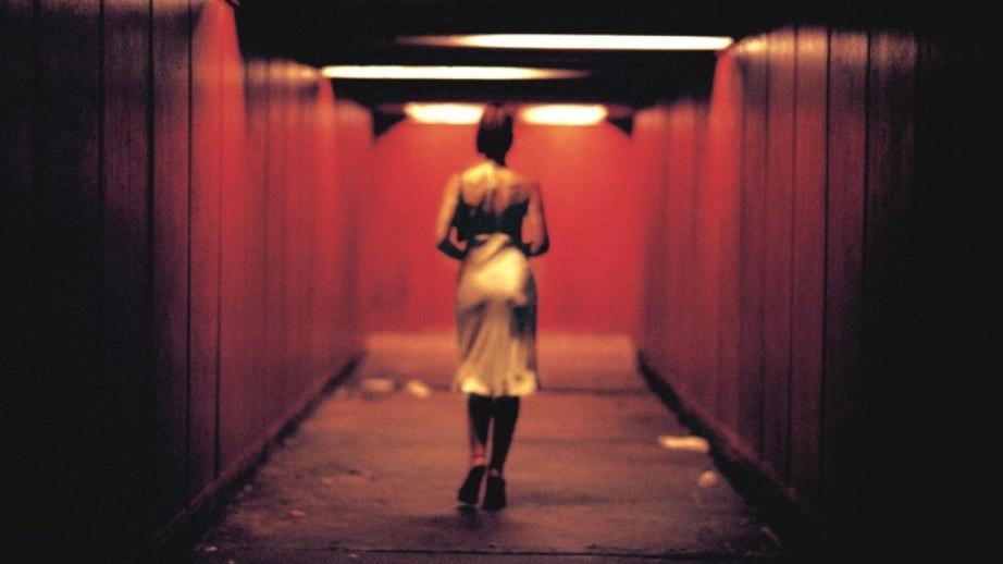 Monica Bellucci embarks on short walk to savage and misogynistic human cruelty in Gaspar Noé's Irréversible, 2002. Cinematography | Benoît Debie & Gaspar Noé