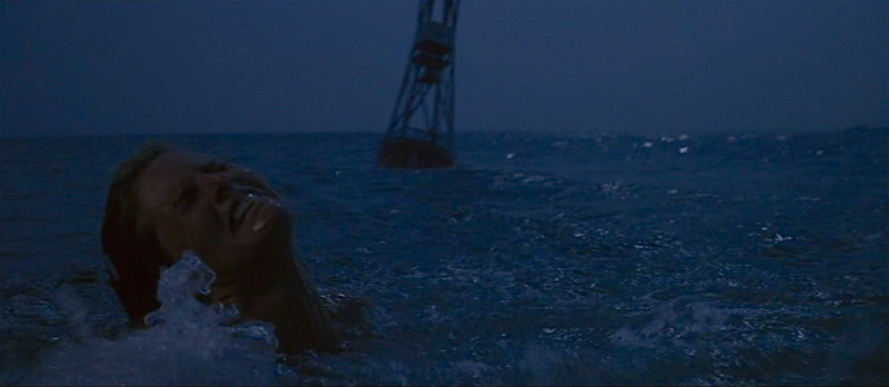 Have you ever been able to fully enjoy swimming in the ocean without thinking of that girl being attacked by the shark?  Jaws, Steven Spielberg Cinematography | Bill Butler