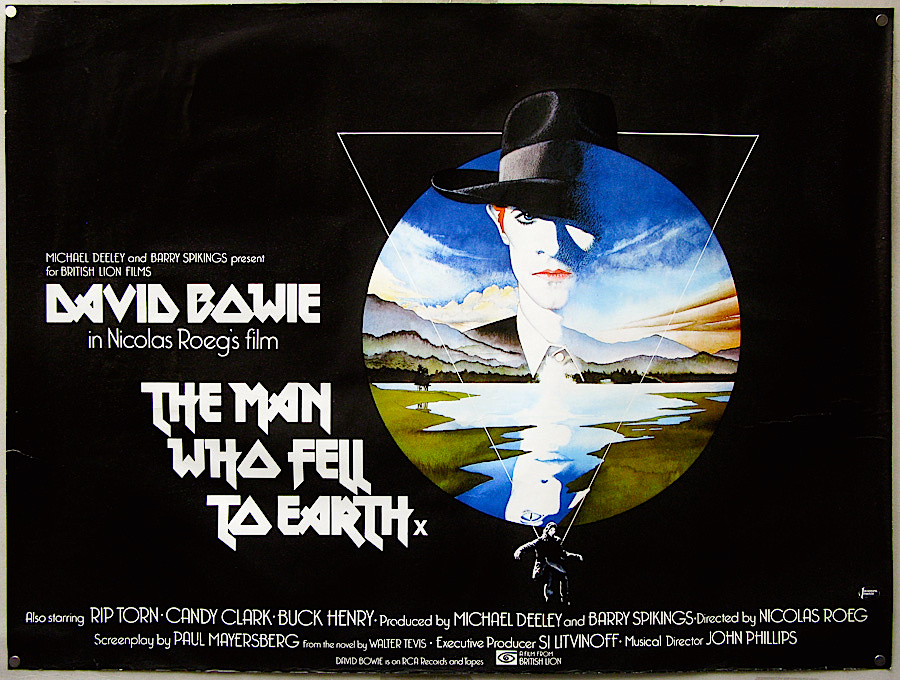 The Man Who Fell To Earth, Nicolas Roeg, 1976 Cinematography | Anthony B. Richmond Film Editor | Graeme Clifford