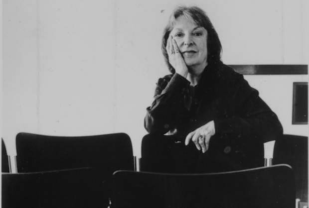 The great and truly iconic American Film Critic, Pauline Kael. (photographer unknown to me)
