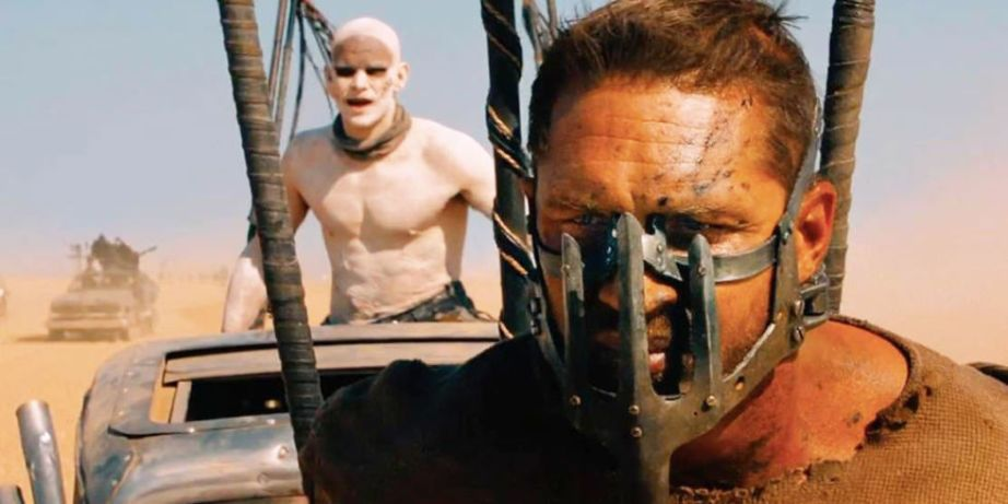 Tom Hardy's skills are once again masked in George Miller's Mad Max: Fury Road