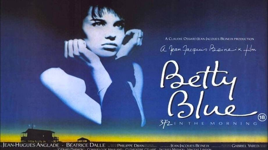 Beatrice Dalle and the stylish Betty Blue poster found a place on more walls than can be imagined.