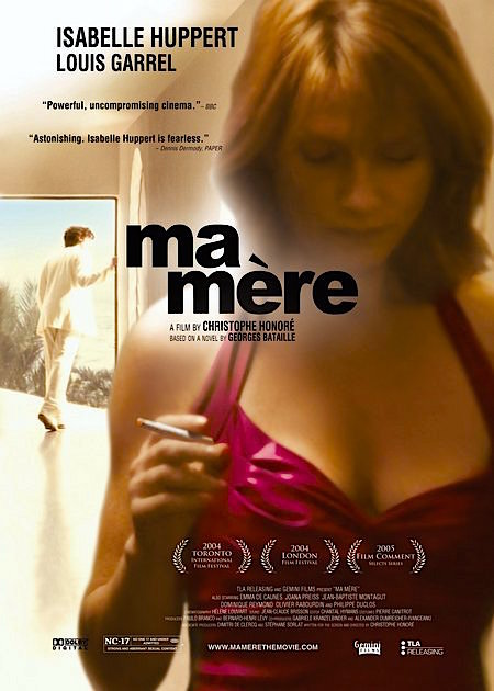 Isabelle Huppert as Ma Mere. Christophe Honoré, 2004. Cinematography | Hélène Louvart