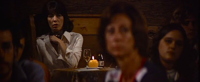 Lily Tomlin's comic persona disappears as a conflicted wife becomes the focus of a musical lothario. She is not 'easy' in Nashville, Robert Altman.  Cinematography | Paul Lohmann