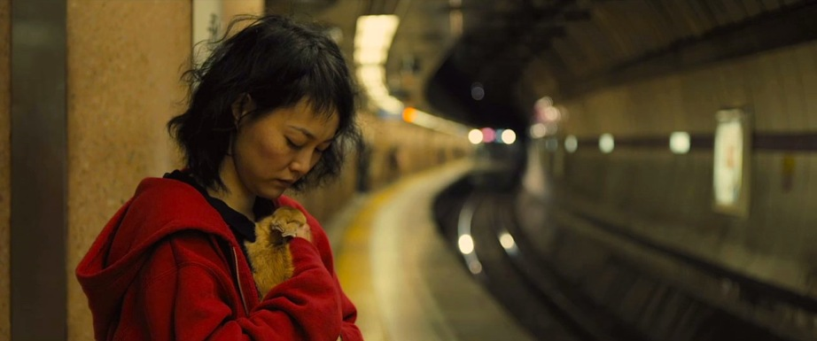 A girl and her rabbit. Kimuko The Treasure Hunter David Zellner, 2014 Cinematography | Sean Porter