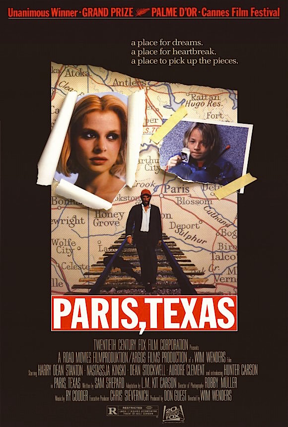 Paris, Texas Wim Wenders, 1984 Cinematography | Robby Müller