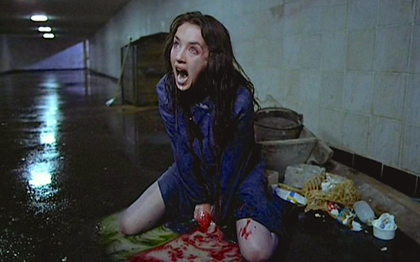 One of if not the most deeply disturbing moments in cinematic history.  Isabelle Adjani Possession Andrzej Zulawski, 1981 Cinematography | Bruno Nuytten
