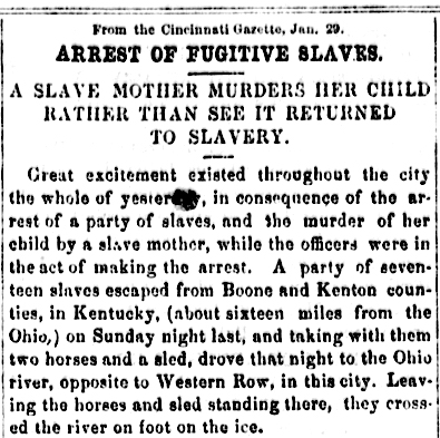 From the Cincinnati Gazette.  June 29, 1856