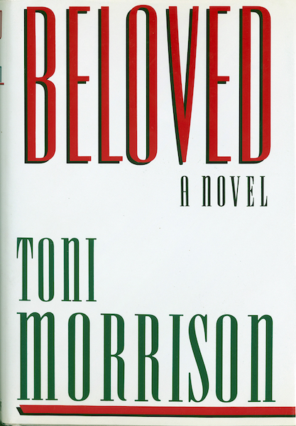 "Epigraph: ""I will call them 'my people' who are not my people; and I will call her 'my loved one' who is not my loved one,""  Romans 9:25 Dedicated to the Africans and their descendants who died as a result of the Atlantic slave trade."" Beloved by Toni Morrison, 1987"
