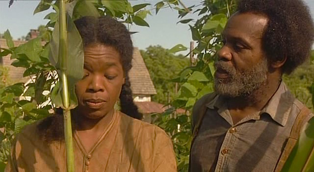 Oprah Winfrey and Danny Glover Beloved Jonathan Demme, 1998 Cinematography | Tak Fujimoto