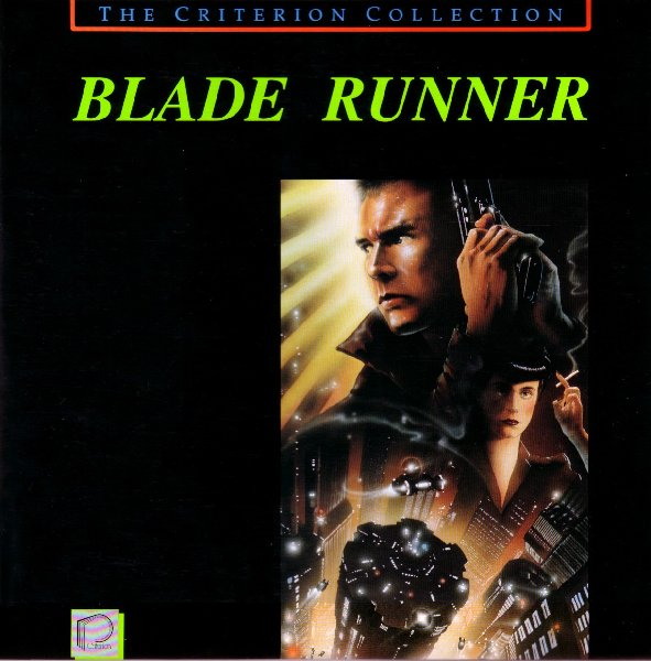 The Criterion Collection's highly prized LaserDisc of Ridley Scott's Blade Runner.