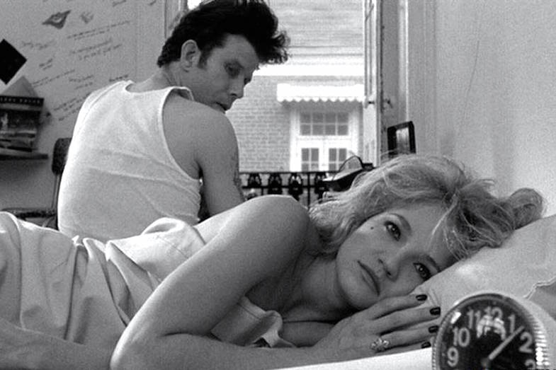 """ You don't take care of me. You don't want me..."" Ellen Barkin / Tom Waits Down by Law Jim Jarmusch, 1986 Cinematography 
