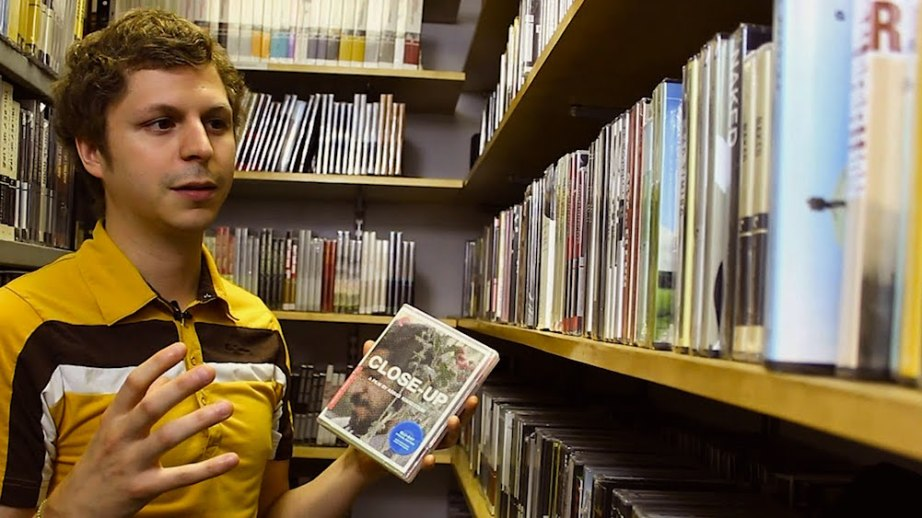 Canadian actor, Michael Cera visits The Criterion Closet. Criterion, 2015