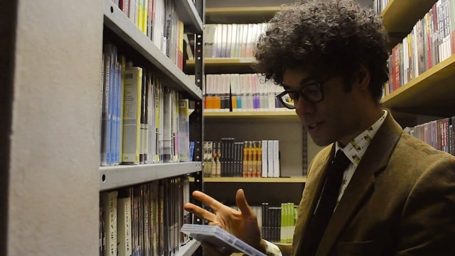 British Filmmaker, Richard Ayoade visits The Criterion Closet.  Criterion, 2014