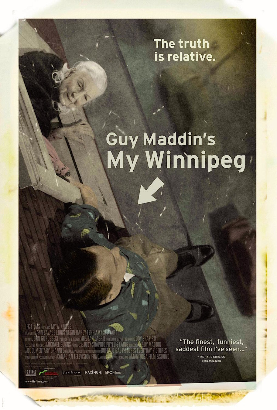 """Fact, fantasy or memory?"" My Winnipeg Guy Maddin, 2007 Cinematography 