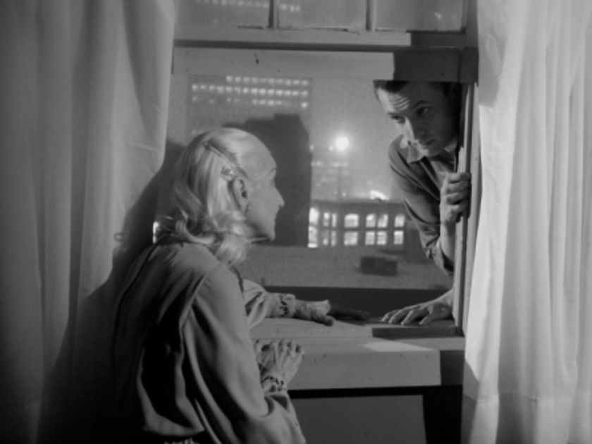 Mother does not always stand for comfort.. Ann Savage casually chats her son out of suicide.  My Winnipeg Guy Maddin, 2007 Cinematography | Jody Shapiro
