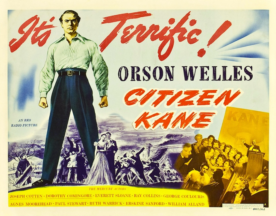 "This film holds the distinction of being the first movie to ever receive ""The Criterion Treatment"" It was released in the short-lived Laser Disc format in 1984.  Citizen Kane Orson Welles, 1941"