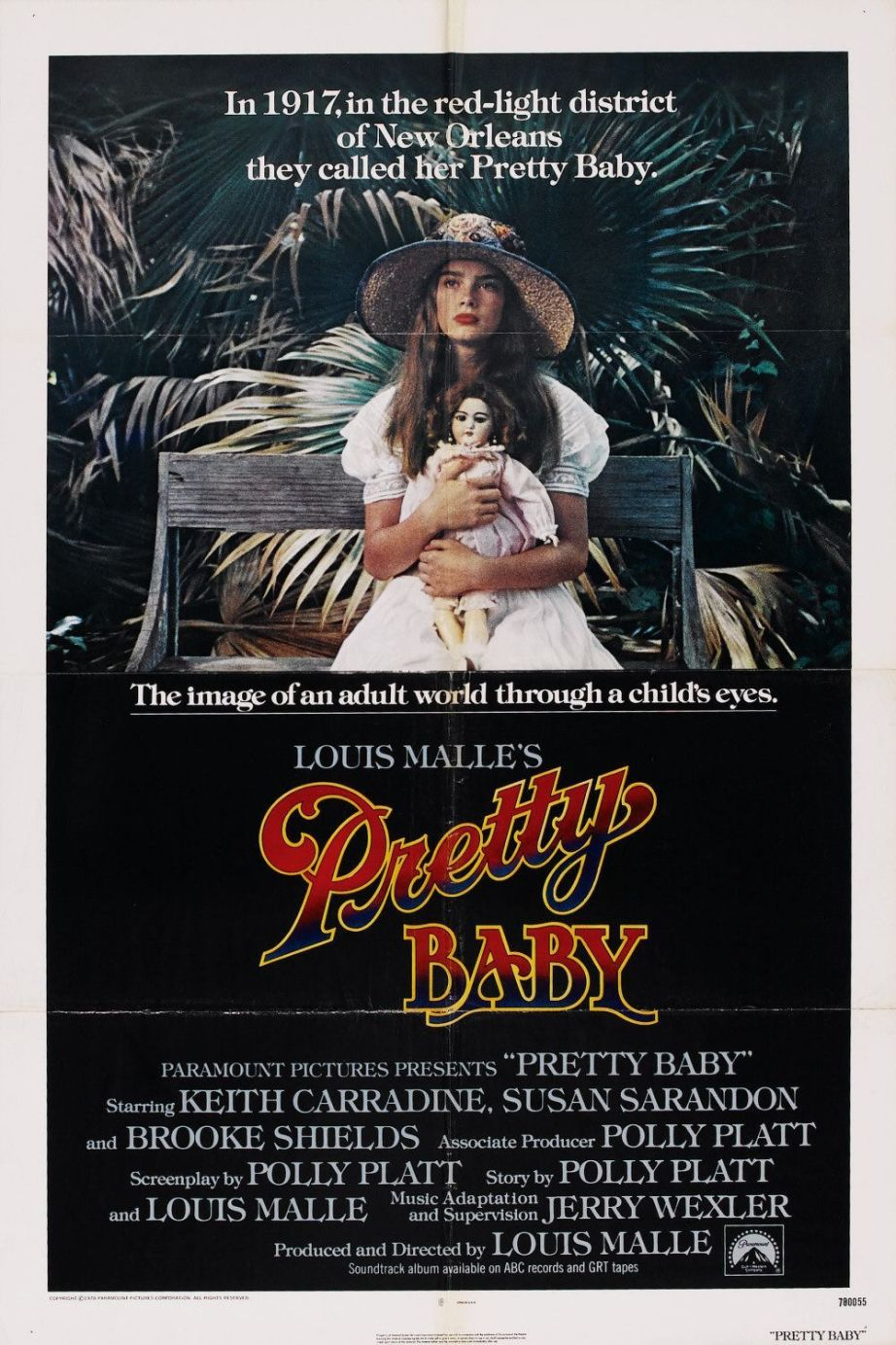 Louis Malle's 1978 film, Pretty Baby, created some controversy at the time it was released. But it never generated any legal doubts that Brooke Shields was exploited. It remains a potent film, that feels suspect.