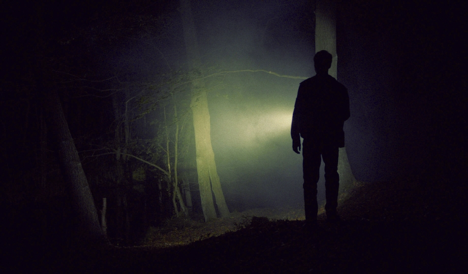Something is out there. Just beyond the trees. Is it a wolf? A werewolf or something altogether different?  Der Samuari Till Kleinert, 2014 Cinematography | Martin Hanslmayr