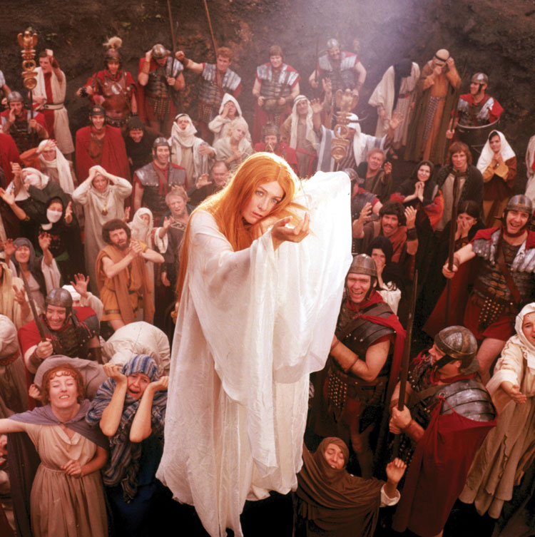 """The Devils is not a film for everyone . . ."" Vanessa Redgrave as Sister Jeanne The Devils Ken Russell, 1971 Cinematography 