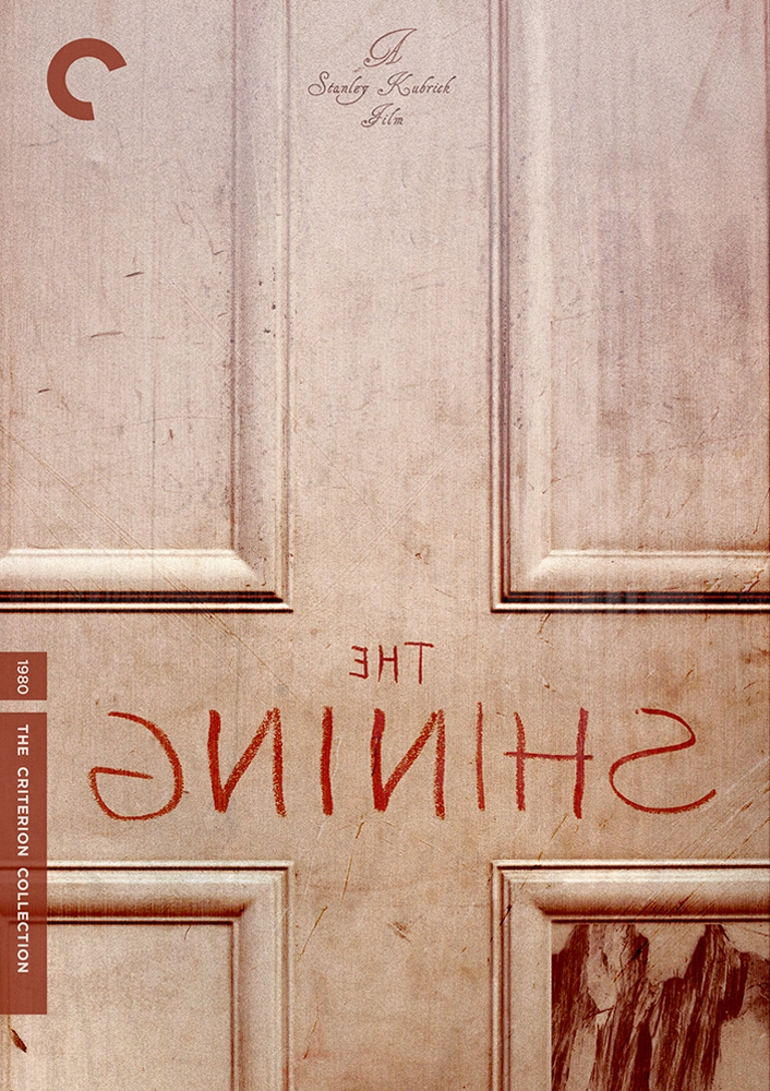 Fake Criterion Cover for Stanley Kubrick's  The Shining Designed by and courtesy of © Variant www.variantcreative.com