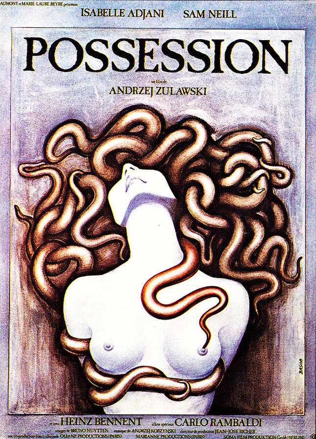 """Murder. Evil. Infidelity. Madness."" Possession Andrzej Zulawski, 1981"