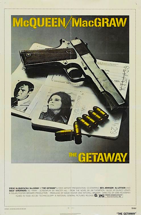 """Punch it, Baby!"" The Getaway Steve McQueen Sam Peckinpah 