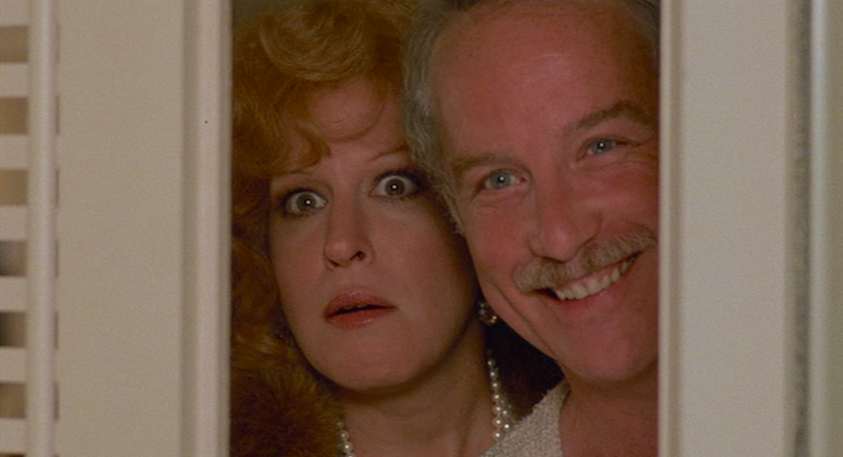 Bette Mider / Richard Dreyfuss Down and Out in Beverly Hills Paul Mazursky, 1986 Cinematography | Donald McAlpine