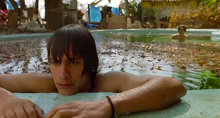 Gael García Bernal and his friend are about to go deeper than their friendship can survive.  Gael García Bernal Y Tu Mamá También Alfonso Cuarón, 2001 Cinematography | Emmanuel Lubezki