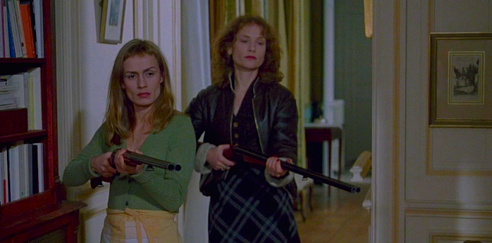 The Servants' Revolt Sandrine Bonnaire / Isabelle Huppert La Ceremonie Claude Chabrol, 1996 Cinematography | Bernard Zitzermann