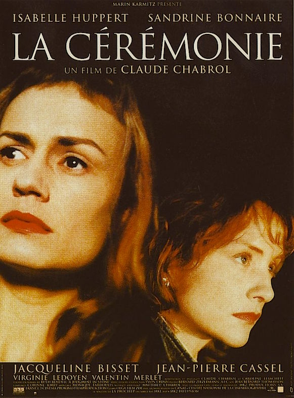 Pushed down by their class or pulled down by personal struggles that have been ignored? La Ceremonie Sandrine Bonnaire / Isabelle Huppert Claude Chabrol, 1996 Cinematography | Bernard Zitzermann