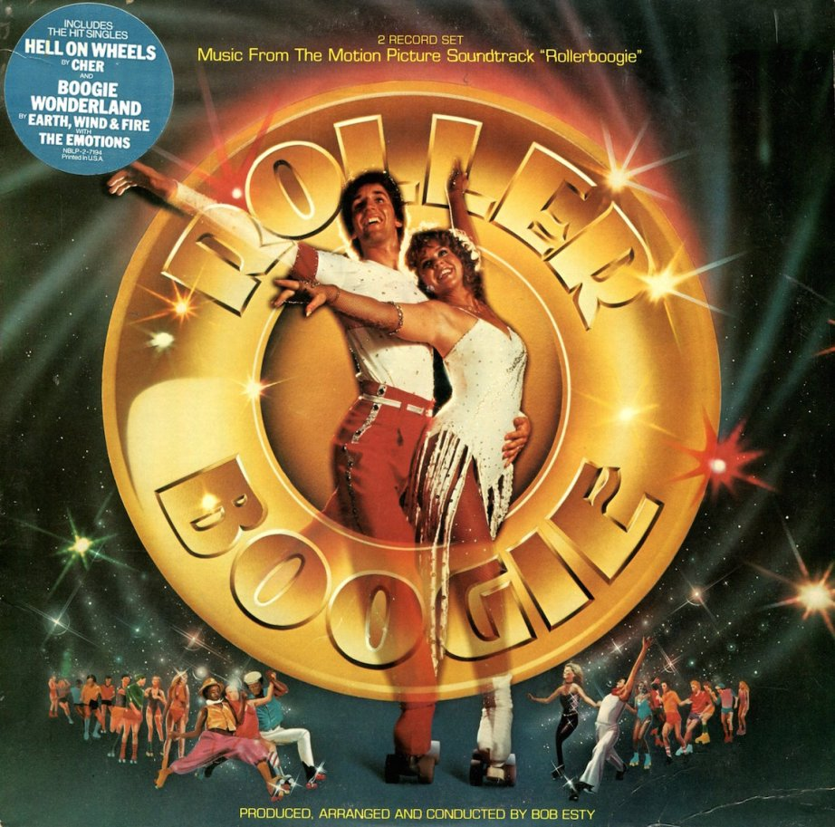 "The soundtrack for Roller Boogie featuring ""a song by Cher"""