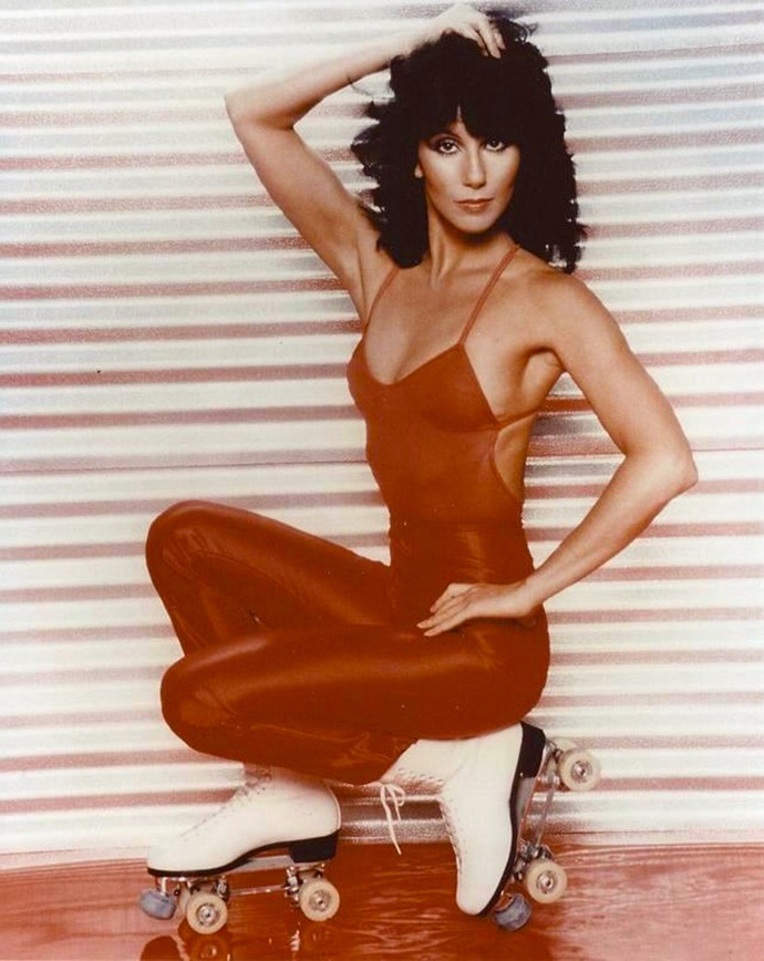 Cher is more than ready to roll... Photograph | Harry Langdon, 1979