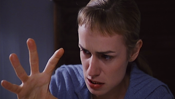 No educational assistance, illiterate, misfit or insane. Sophie's frustration is beginning to form into rage. Sandrine Bonnaire La Ceremonie Claude Chabrol, 1996 Cinematography | Bernard Zitzermann